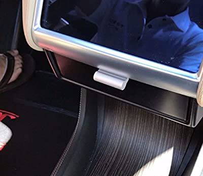 EVamped T-Drawer for Tesla Model S and Model X (Matte Black), Tesla Drawer, Dash Drawer