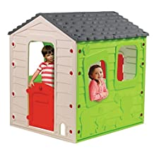 Children Kids Fun Farm House Playhouse for Indoor or Outdoor Play