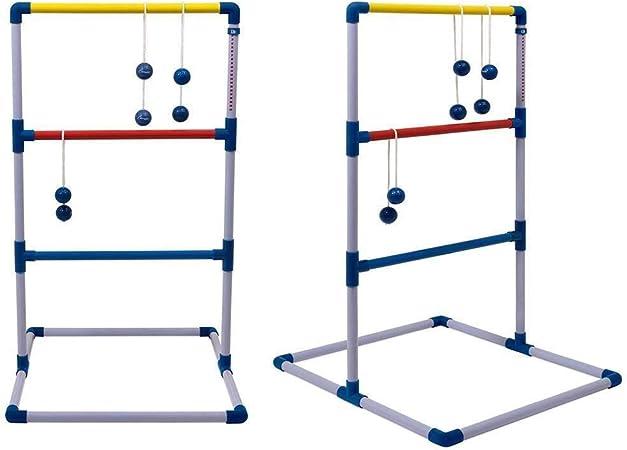 Divertido Juego de juego de pelota Ladder: juego de juego de exterior Premium Ladder Toss for