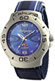 Kahuna 252-3003L Ladies Watch with Blue Velcro Strap and Matching Blue Dial
