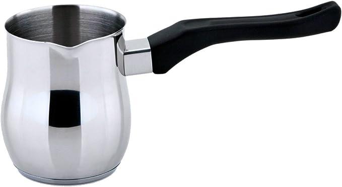 Cocina de inducción con mango de jarra de café de la leche cazo de ...
