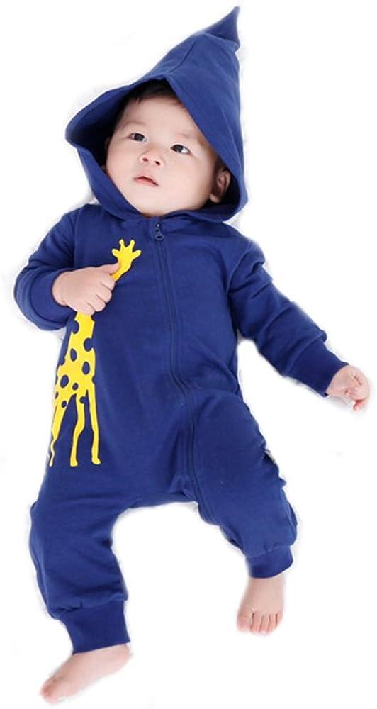 62 Koala Baby Strampler Overall Baby Jungen//Jumpsuit Baby Jungen als Baby Strampler ohne F/ü/ße in Dunkelgrau mit Ohren /& Kapuze//Hasen Overall Baby Neugeborene /& Kleinkinder//Gr 0-3 Monate