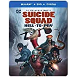 DCU: Suicide Squad: Hell To Pay - Limited Edition Steelbook (Blu-ray + DVD + Digital)