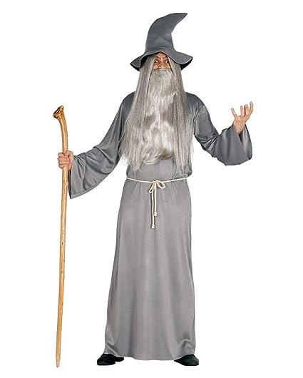 Horror-Shop traje de mago de la fantasía con el sombrero M ...