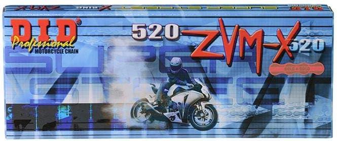 Motorrad Kettenkit Kettensatz DID 520ZVM-X f/ür YZF-R6 RJ09 2005 inlusive Kettenrad Kette Ritzel Kettenschloss