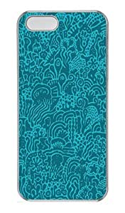 Abstract Drawings Case Cover for iPhone 5S and iPhone 5 PC Transparent by lolosakes