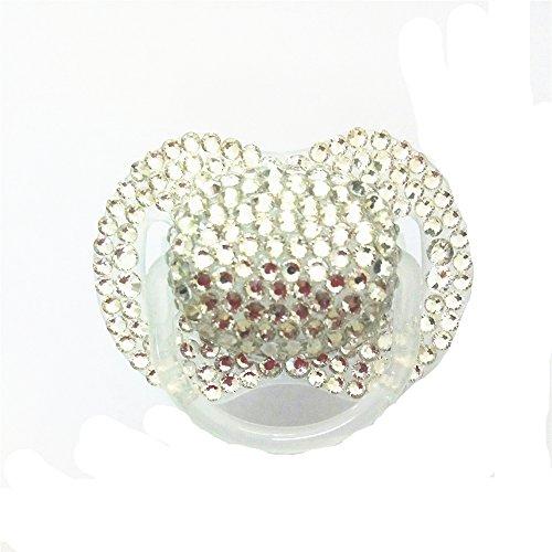 (Dollbling Custom Unique Sparkle Silver Rhinestones Crystals Baby)