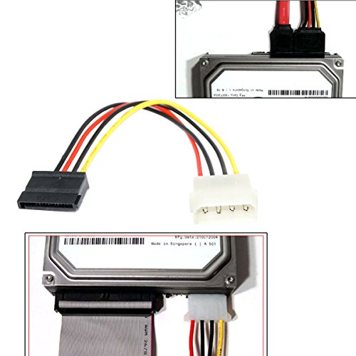 Coolgear Molex to SATA Power Cable 6-Inch