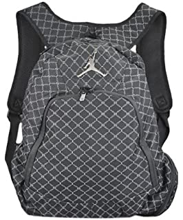 a23b278d30454a Amazon.com  Nike Jordan Jumpman 23 Round Shell Style Backpack - Red ...