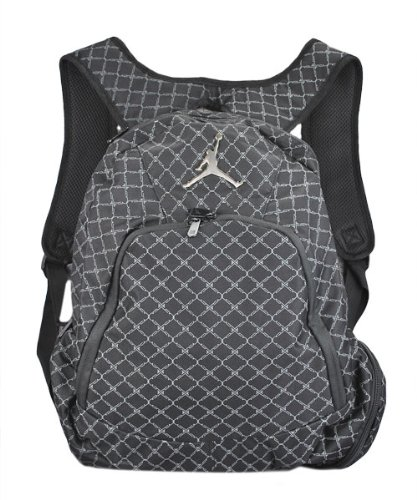 2b75a153b9370e Amazon.com  Nike Jordan Jumpman 23 Backpack Black  Sports   Outdoors