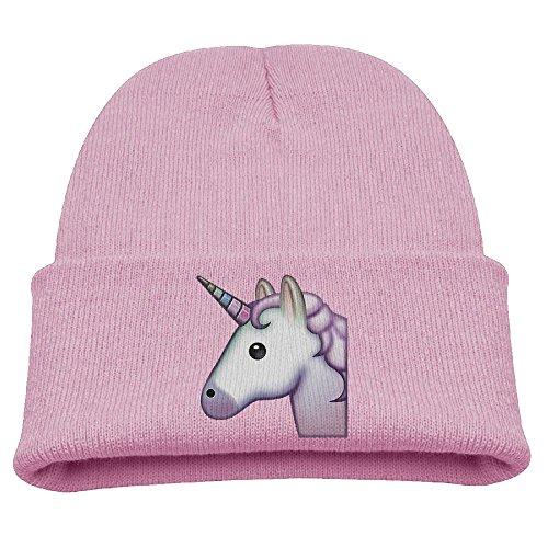 Rainbow Unicorn Boys Boys Girls Winter Hat Knit Kids Beanie Hat Skull Hat Ears Covers -
