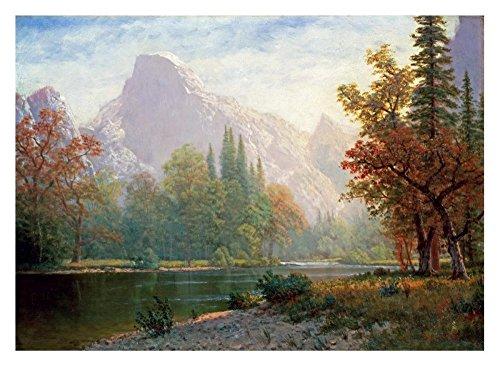 "Global Gallery ""Albert Bierstadt Half Dome: Yosemite"" Unframed Giclee on Paper Print, 21.5"" x 30"" from Global Gallery"