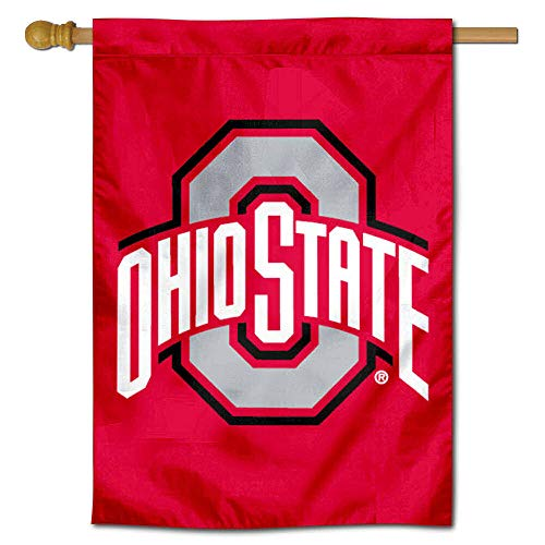 - Ohio State Buckeyes College House Flag