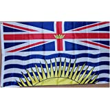 NEW 3x5 British Columbia Province Canada Flag 3 x 5