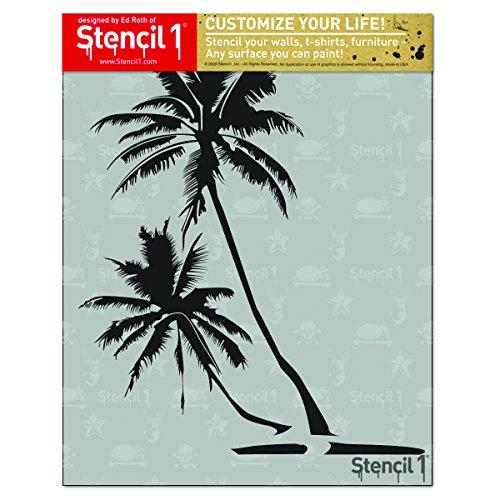 Stencil Palm Trees (Stencil 1 S1_01_21 Palm Trees Stencil, 8.5