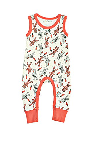 Cat Dogma Certified Organic Infant Baby Clothing Bunny Jumper 0