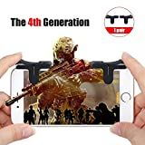 Mobile Game Controller, Sensitive Shoot and Aim Buttons for PUBG/Fortnite/Knives Out/Rules of Survival, Phone Game Joystick, Touch Screen Rocker for Android/IOS (Buttons)