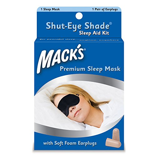 Macks shut-eye shade premium sleep mask