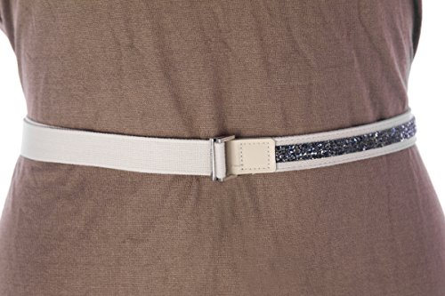 'S Max Mara Women's Brusson Half Beaded Belt Large (49