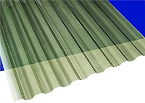 Solar Gray Polycarbonate Corrugated Roofing Panel