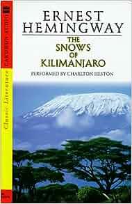 an interpretation of hemingways the snows of kilimanjaro The use of symbolism in hemingway's the snows of kilimanjaro by jack brimhall hemingway' s the snows of kilimanjaro is a story of a one man's struggles.
