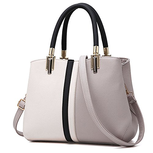 Women Top Bags Tibes Girls For Purse Handbags For Bags Shoulder Clutches Bags Gray Totes Handle wwHaEqY