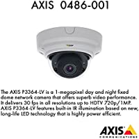 Axis Communications 0486-001 P3364-LV 12mm - Network camera - dome - vandal-proof - color ( Day&Night ) - 1280 x 960 - vari-focal - audio - 10/100 - MJPEG, H.264 - PoE