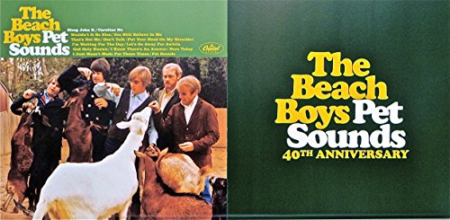 "Beach Boys ~ Pet Sounds (40th Anniversary) ~ Original 24""x12"" Double-sided Advertising Poster"