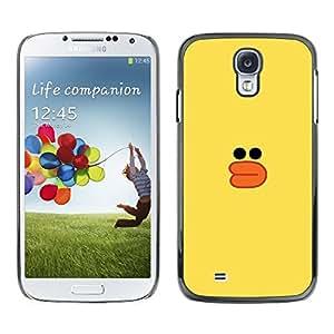 Be Good Phone Accessory // Dura Cáscara cubierta Protectora Caso Carcasa Funda de Protección para Samsung Galaxy S4 I9500 // yellow duck bath toy kids drawing