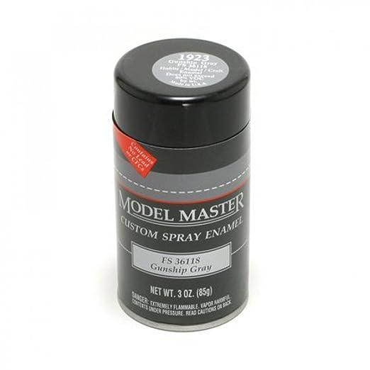 Amazon.com: GUNSHIP GRAY (FS 36118) 3oz. Spray Can by Testors Corp ...