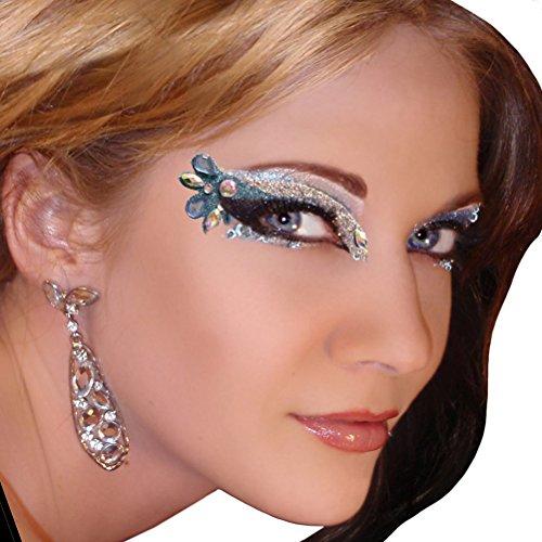 Isis Xotic Eyes Blue Eye Glitter Jewels Professional Eye Make Up by Xotic Eyes