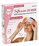 Facial Pain Eye Strain - U.S. Jaclean Japan Steam Eye Mask, Floral