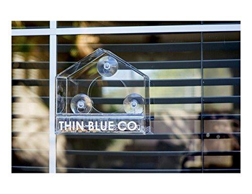[해외]슬라이딩 공급 트레이와 함께 아크릴 창 새 버드를 완성하십시오. /Complete acrylic window bird feeder with sliding feed tray. Limited time price!