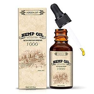 Hemp Oil, High Strength Hemp, Hemp Seed Oil, Made ...