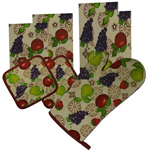 Pieces Cotton Kitchen Towels Holders