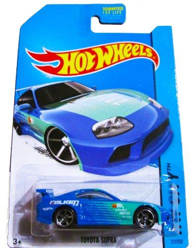 Toyota Supra Base (Hot Wheels 2014 HW City Toyota Supra 22/250, Blue)