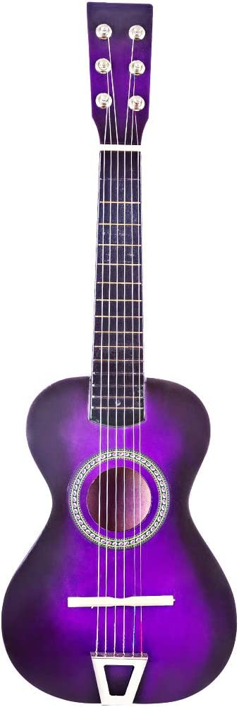 HENGTONGTONGXUN 6 Strings 23 Inch Wooden Guitar For Children Easy to use