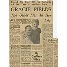 Gracie Fields original clipping magazine photo 1pg 6x8 #R2667