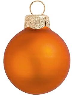 Amazoncom 40ct Shiny Black Glass Ball Christmas Ornaments 125
