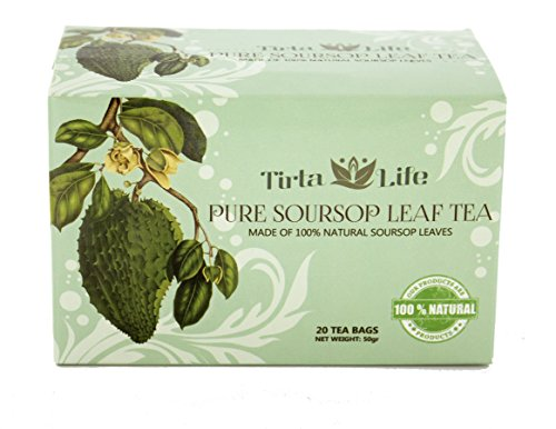 Premium Soursop  Graviola  Guayabano Tea (20 Teabags) (Pure Soursop Leaves Tea)