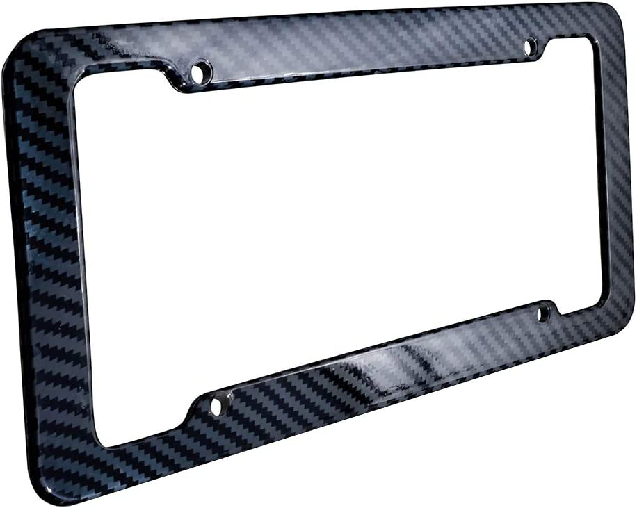 get/önte Acryl-Abdeckrahmenschraube Walmeck Kfz-Kennzeichen Car Shield Kit Klare