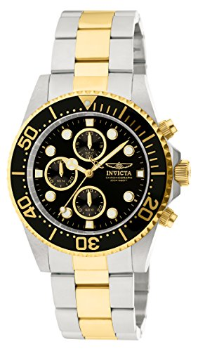 - Invicta Men's 1772 Pro Diver Collection Chronograph Watch