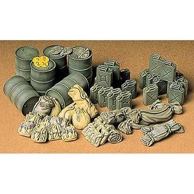 Tamiya America, Inc 1/35 Allied Vehicle Accessories, TAM35229: Toys & Games