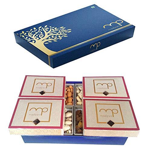 Maalpani Dry Fruit Gift Box   Decorative Box for Gift Hamper   Diwali   Festival   Events   Days   Occasion   Birthday…