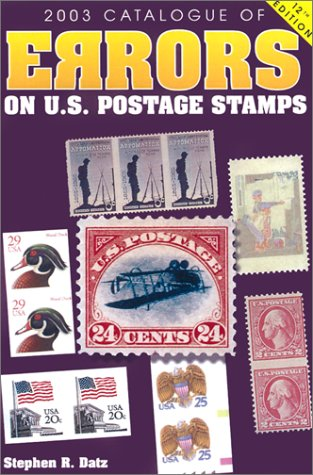 2003 Catalogue of Errors on U.S. Postage Stamps