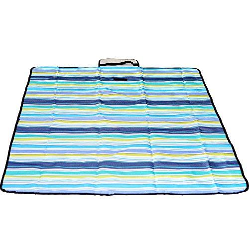Neue wasserdichte feuchtigkeitsfest 150 x 200cm Garden Beach Camping Decke Picknick Pad