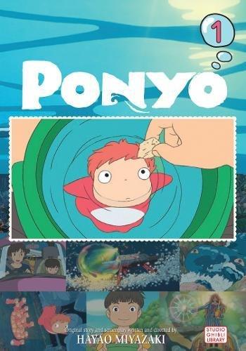 Ponyo Film Comic, Vol. 1 (PONYO ON THE CLIFF)