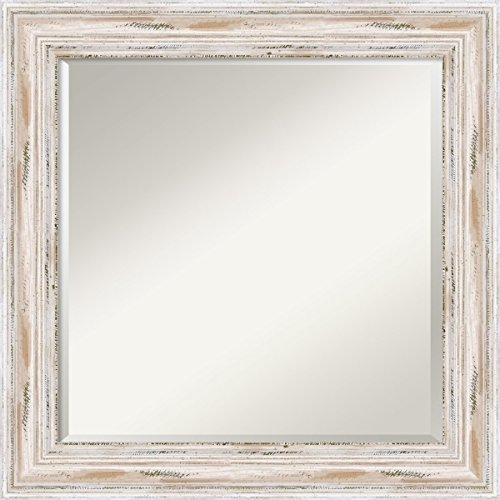 Wall Mirror Square Alexandria White product image