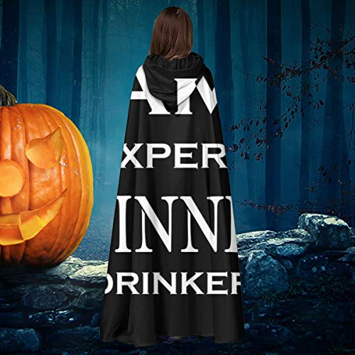 Guinness Halloween Costume (Personalised Guinness Expert Drinker Unisex Christmas Halloween Witch Knight Hooded Robe Vampires Cape Cloak Cosplay Costume)