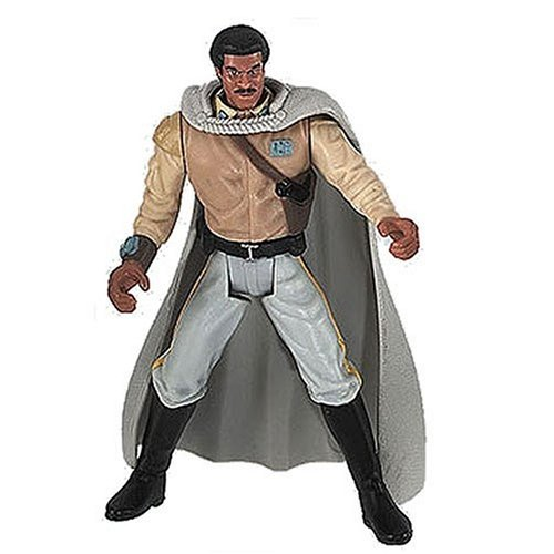 Star Wars Power of the Force Freeze Frame Lando Calrissian in General's Gear Action Figure 3.75 Inches